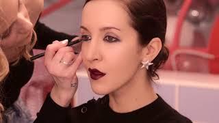 ➤ Make-UP для Матильды Шнуровой | Образ: Темная помада и Прямое каре | Beauty Vlog Глюк