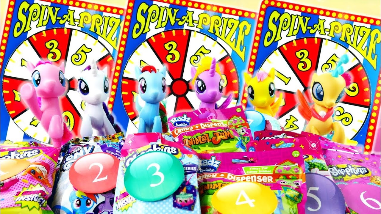 My Little Pony the Movie Surprise Toy Game - Sea Pony Play Spin the Wheel