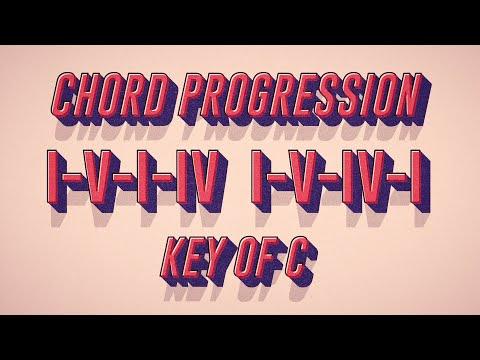 Chord Progression: I-V-I-IV   I-V-IV-I (Key of C)