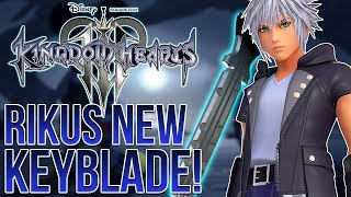 KINGDOM HEARTS 3 - RIKUS NEW KEYBLADE, NEW OUTFITS AND THE LINK SYSTEM - dooclip.me