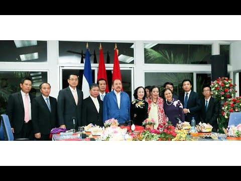 Presidente Daniel Ortega y vicepresidenta Rosario Murillo sostienen encuentro con delegación de alto nivel de Vietnam