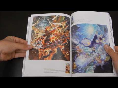 """Review of Pokemon """"Trading Card Game Illustration Collection"""" Book"""