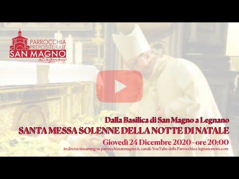 La messa della Notte di Natale in diretta dalla Basilica di Legnano