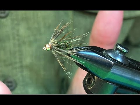 Peacock and partridge soft hackle