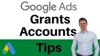 Google Ads Grants Nonprofits - Grants Pro Account Tips