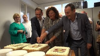 Opening nieuwe studio Langstraat Media - Langstraat TV