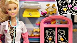 Pet Vet Doll and Playset / Barbie jako Weterynarz - Barbie Carrers - CCP70 - Recenzja