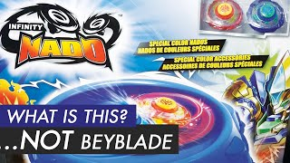 SPINNING TOP WAR! | Beyblade Burst VS Infinity Nado Battle Comparison & Review
