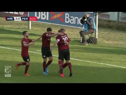Arezzo-Pergolettese 3-0, la sintesi della partita