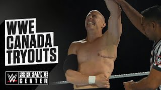 Inside Look At The WWE Canada Tryout