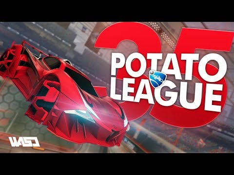 POTATO LEAGUE #35 | Rocket League Funny Moments & Fails