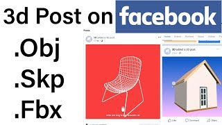 How to Create 3d Post on Facebook