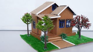 HowTo Make Your Own Miniature Dollhouse Out of Cardboard