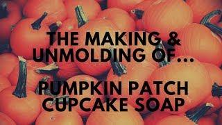Making Pumpkin Patch Cold Process Soap