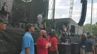 Every Time I Die - Technical Difficulties and We'rewolf Welcome to Rockville 4/30/2017