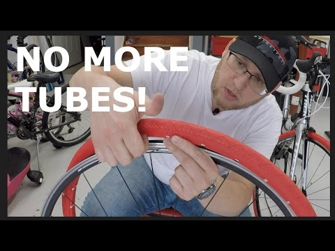 Airless bike tires! NEXO tire installation