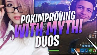 TSM Myth - SOON ENOUGH POKI WILL BE CARRYING ME!!! (Fortnite BR Full Match)
