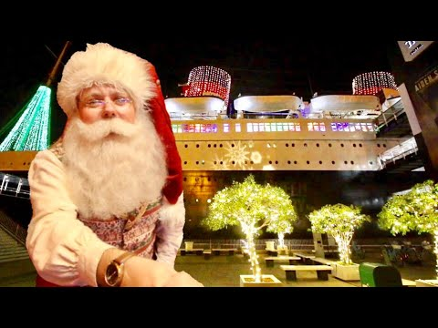 Queen Mary Christmas : Voyage To North Pole - Where Holidays Set Sail / Santa Takes Over The Ship