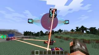 Взрыв реактора из Draconic Evolution