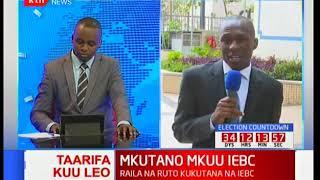 Vinara wa NASA na Jubilee kukutana ana kwa ana katika mkutano wao na IEBC