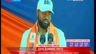 Governor Hassan Joho picks Dr. William Kazungu Kingi as running mate