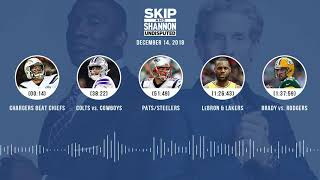 UNDISPUTED Audio Podcast (12.14.18) with Skip Bayless, Shannon Sharpe & Jenny Taft | UNDISPUTED