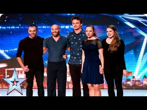 הריקוד שהלהיב את צוות השופטים בתחרות הכישרונות של בריטניה
