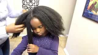 Natural Hair Care | How To Moisturize Your Childs Dry Natural Hair