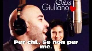 {Giuliano & Elisa   Basta Così (Con Testo)