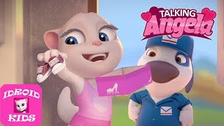 My Talking Angela Gameplay Level 676 - Great Makeover #472 - Best Games For Kids