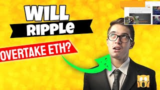 Will Ripple Overtake Ethereum To Become The 2nd Largest Crypto Currency?
