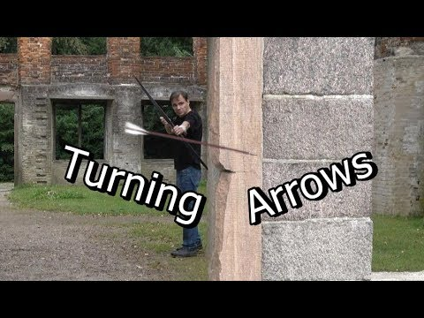 Bending Arrows in Mid Flight Will Amaze You