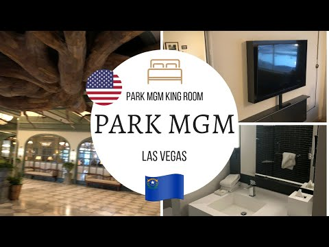 Park MGM Las VEGAS 4K, Standard King Room REVIEW