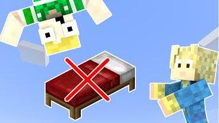 Dansk Minecraft - INGEN SENG CHALLENGE!!