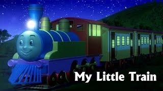 My Little Train Nursery Rhyme - 3D Nursery Rhymes & Train Songs for Children