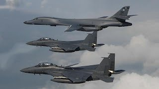 US bombers stage show of force near North Korea