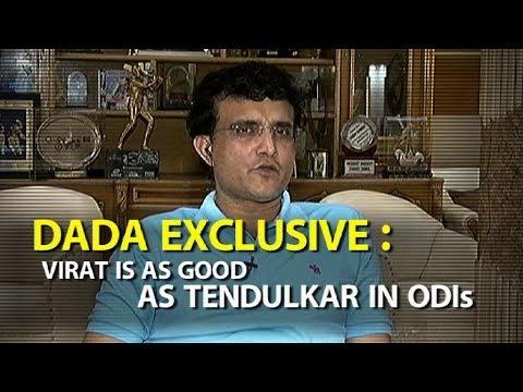 'Virat As Good As Sachin In ODIs'   Sports Tak