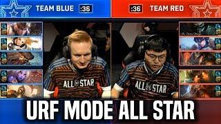 URF MODE ALL-STAR 2018 - League Of Legends AR URF MODE All Star 2018