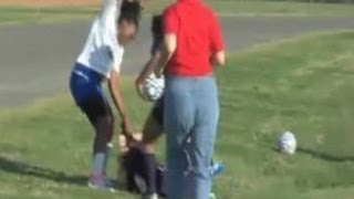 Girls Soccer Fight thumbnail