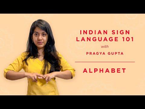 1 - Indian Sign Language 101- Alphabet