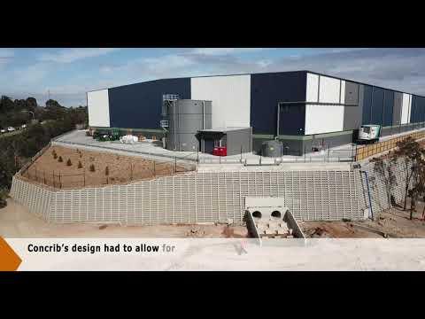 The 900m² Concrib P/L Berrinba Crib Wall Completion Video