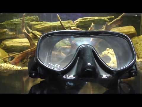 Маска для подводного плавания BS Diver Fox Plus Video #1