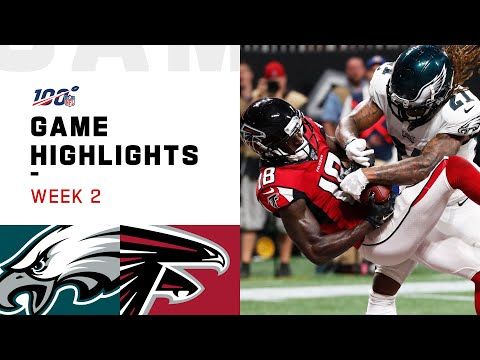 Eagles vs. Falcons Week 2 Highlights | NFL 2019
