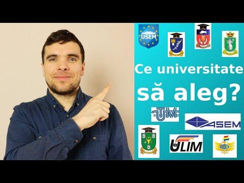 Ce universitate să aleg? | Rodolf Reichman