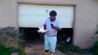 John John cooking the fish for the pastor fish fry.... I know I told you guys this video will be upl