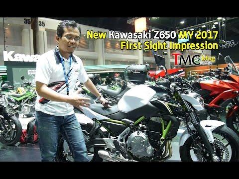 Review Fisik Kawasaki Z650 MY 2017