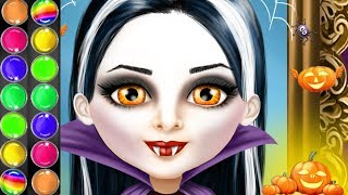 Sweet Baby Girl Halloween Fun - Spooky Halloween Makeover Care Games By Tutotoons