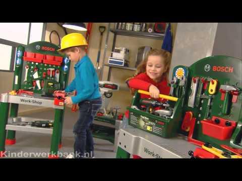 Bosch Workbench - Kinderwerkbank.nl