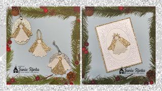Angel Ornaments Tags & Cards