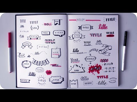 Download 50 Cute Ways to Write a Title Mp4 HD Video and MP3